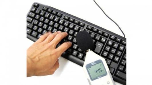 The Silent Keyboard EX cuts noise down to 45 dB
