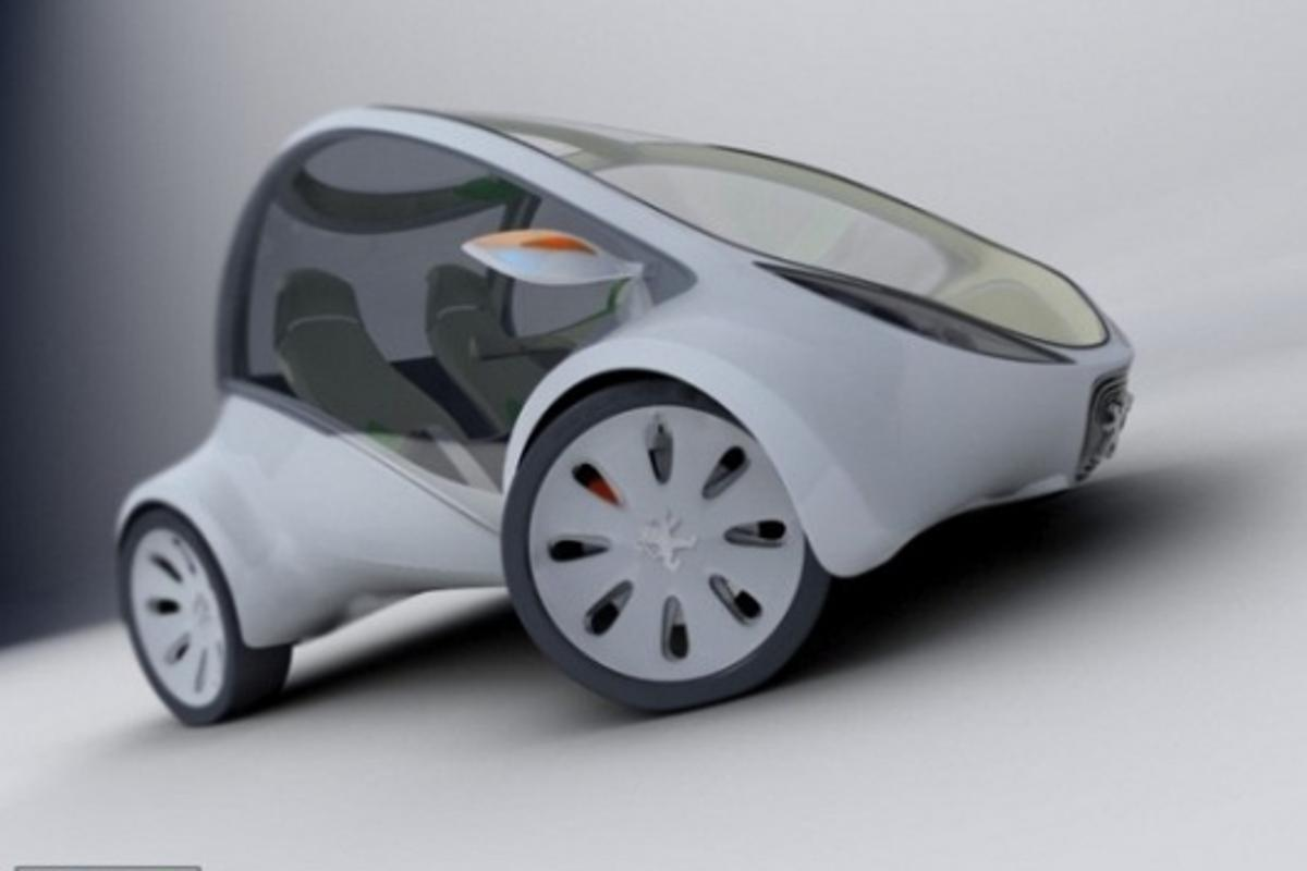 Industrial designer Alan Kravchenko's concept EV