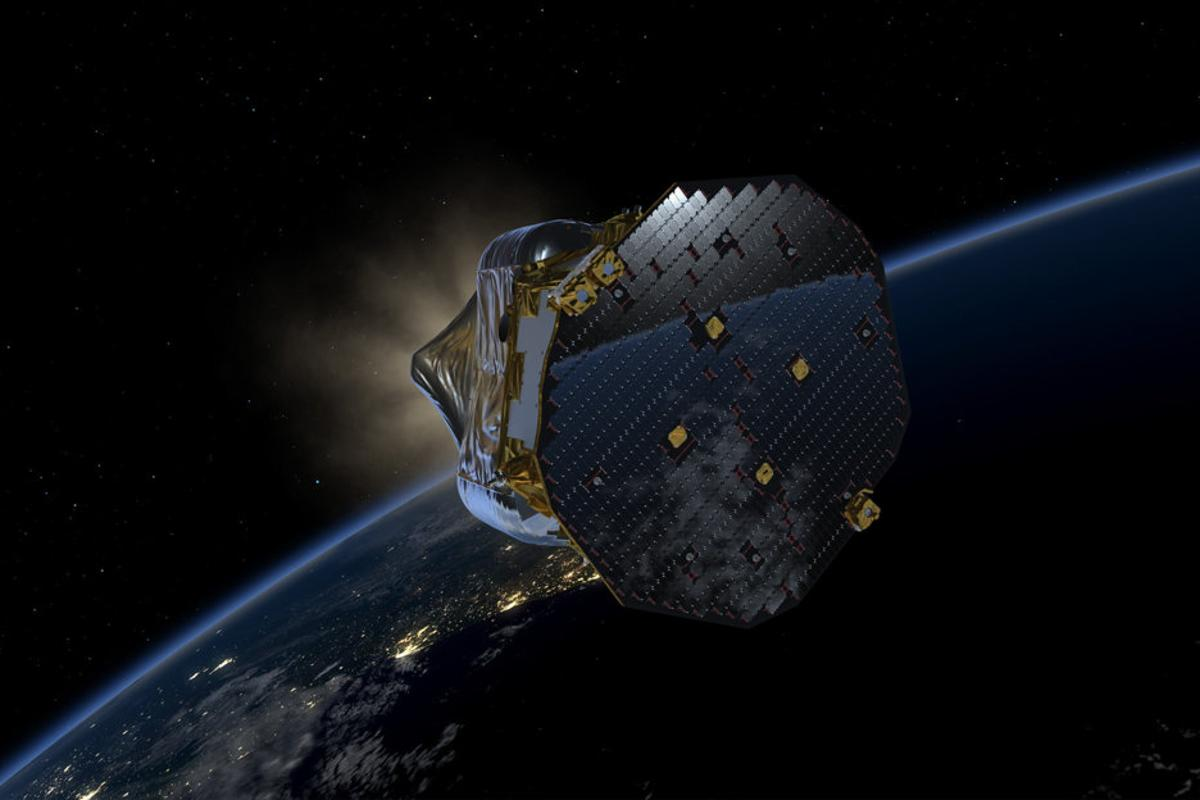 Artist's impression of the LISA Pathfinder probe