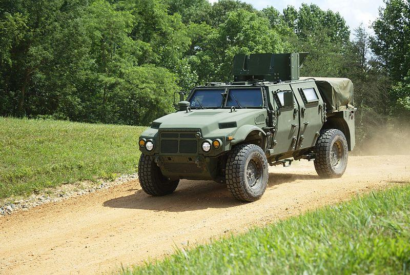 The Joint Light Tactical Vehicle is one of the suggested recipients of the polyfibroblast primer