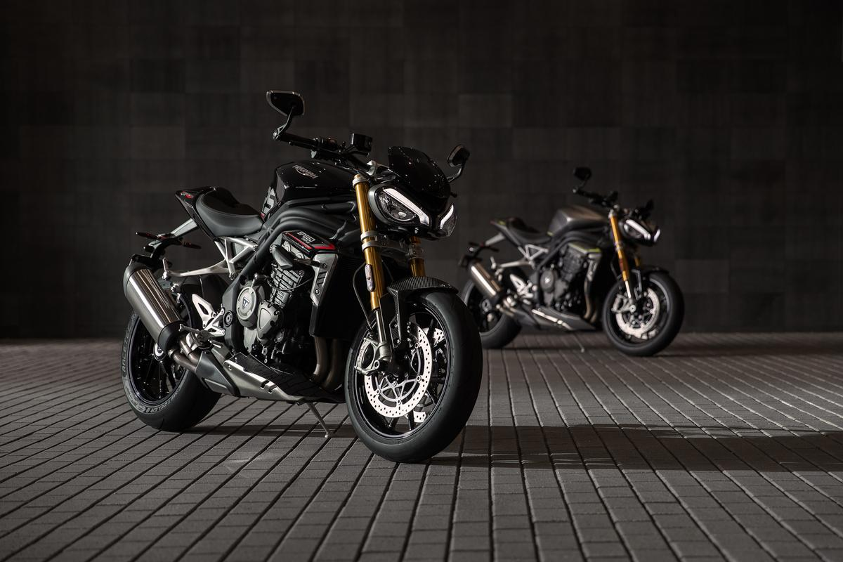 Triumph extends Speed Triple's legacy into the Euro-5 era with the new 1200 RS
