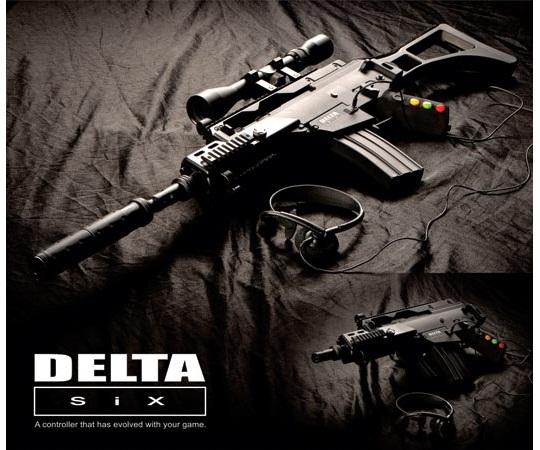 The Delta Six controller is an attempt at adding realism to the FPS genre