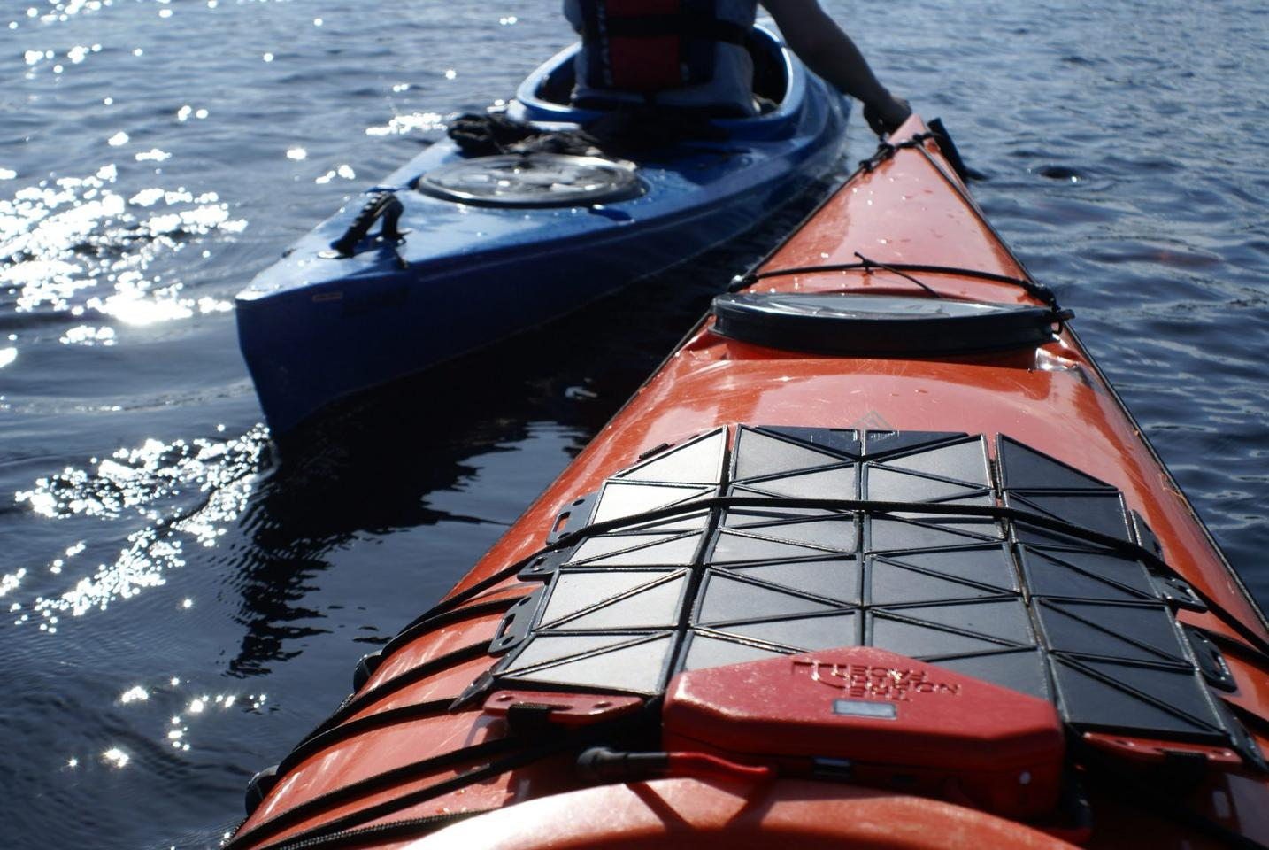The SunUp solar panel could be ideal for outdoor activities such as kayaking