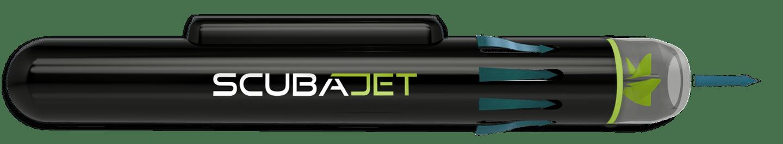 The Scubajet drive has a 360-degree water intake