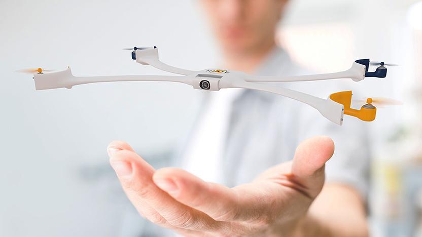 Nixie is a wearable drone designed for autonomous seflies