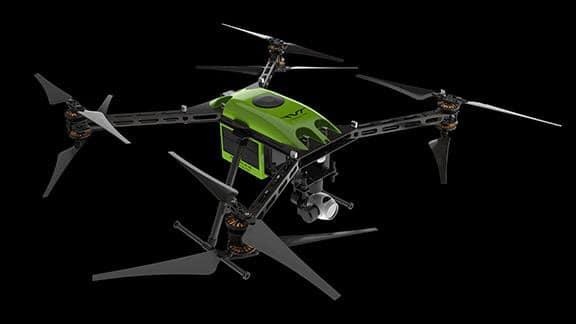 The RangePro X8's maximum relative altitude rating is 5,000 m (16,404 ft) above sea level