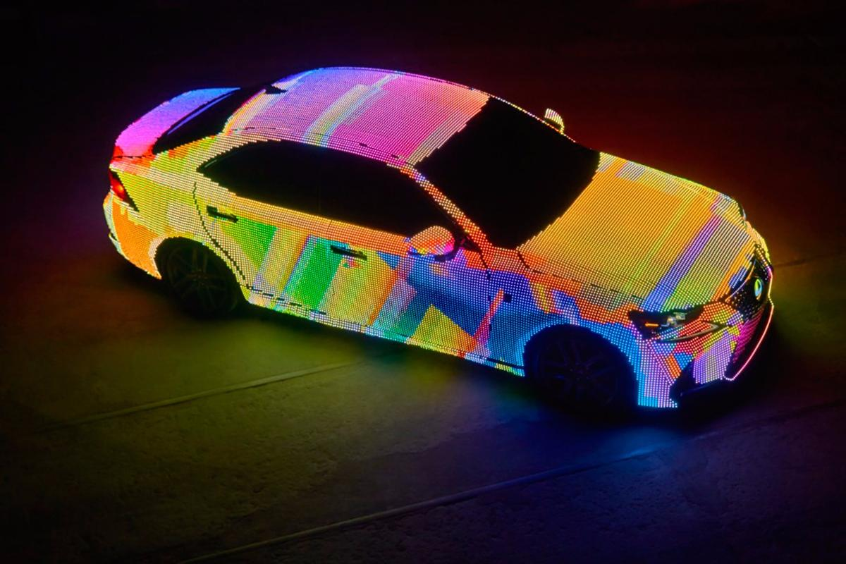 Lexus has added yet another eye-catching concept to its collection with the LIT IS