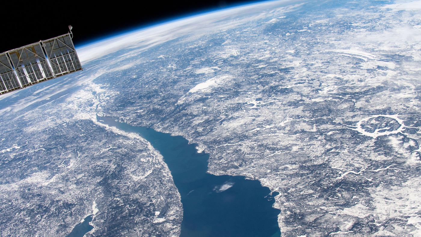 The Manicouagan impact crater in Quebec, Canada, is one of many reminders that asteroids have impacted Earth. Although large impacts are rare, it's important to be prepared