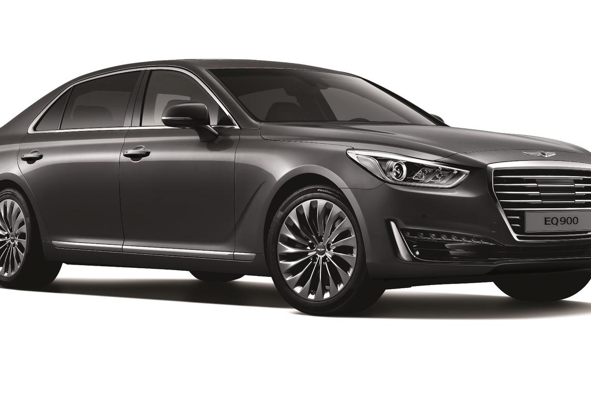 The G90 is Hyundai's first offering in the new, high-end Genesis range