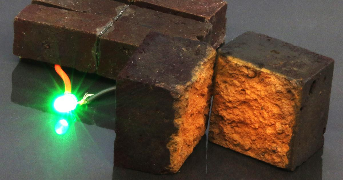 Smart bricks store energy in the walls themselves