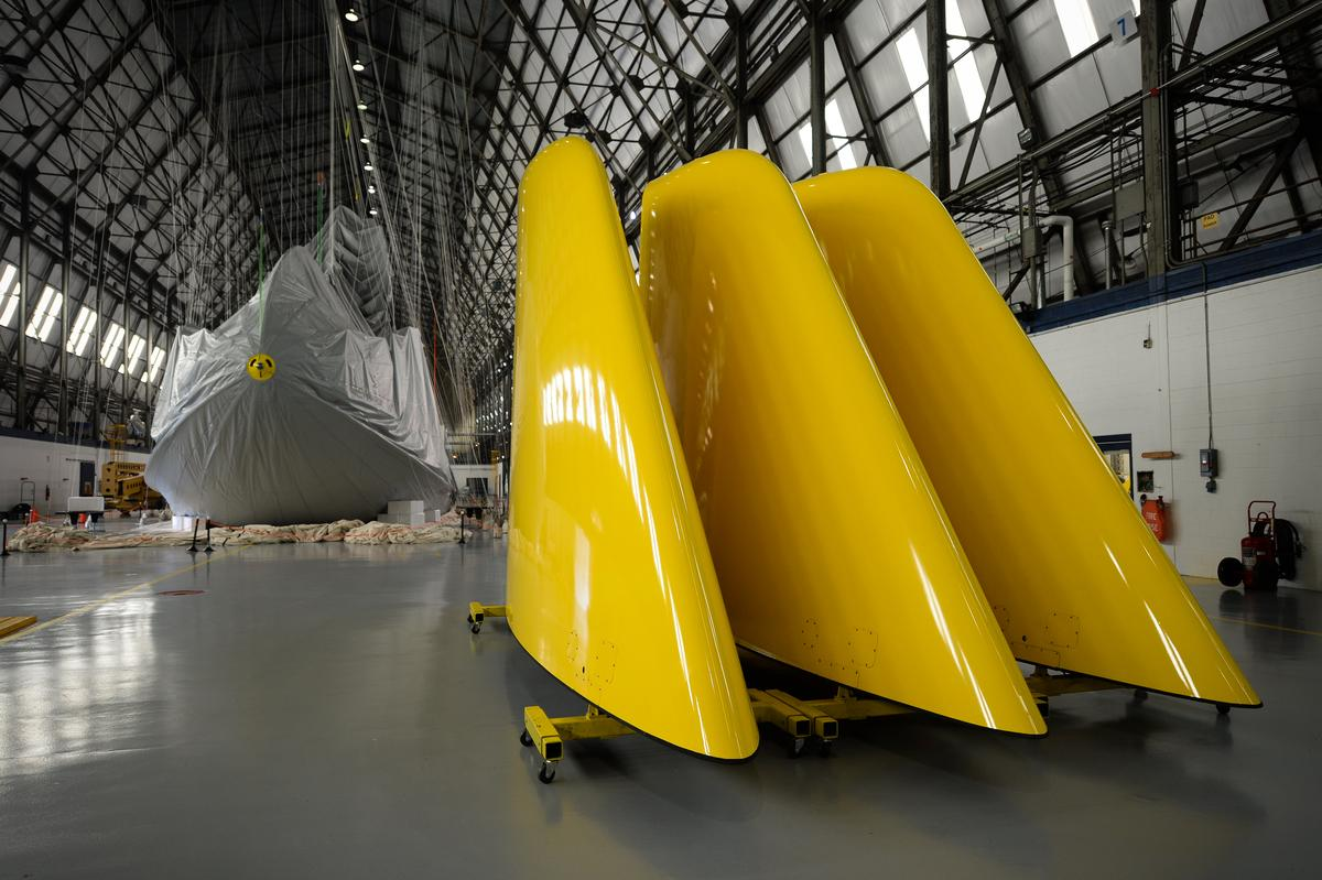 Once airborne, this will be the first of a project to build new zeppelin-design airships to replace Goodyear's current fleet of blimps