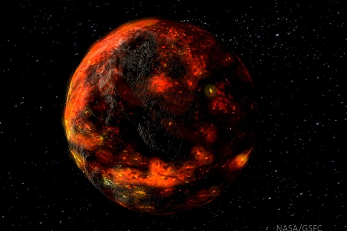 The primordial Moon hosted magma oceans
