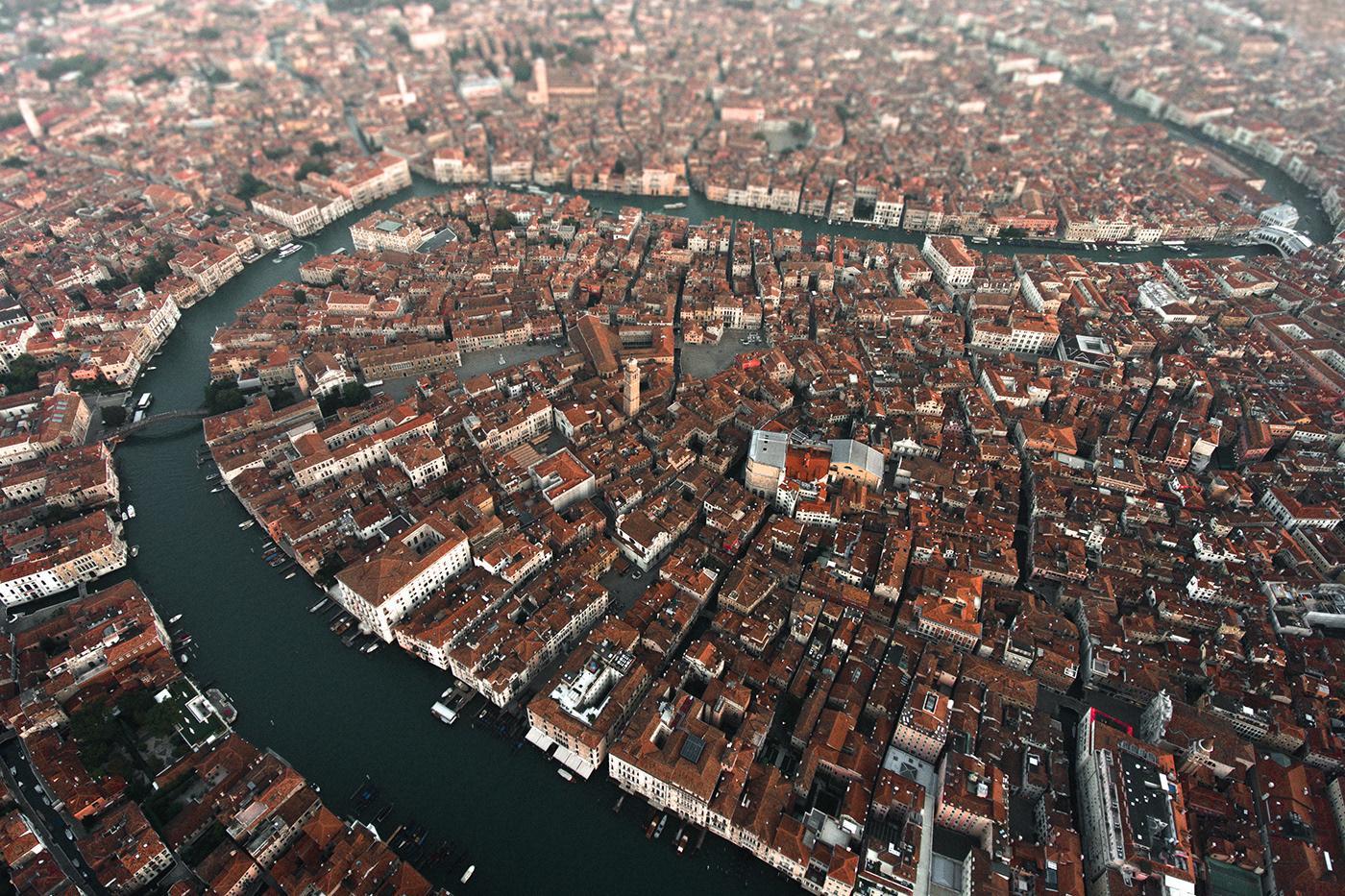 Venice - shot with a DJI Phantom 4. (Credit:Dimitar Karanikolov /BehanceCC BY-NC-ND 4.0)
