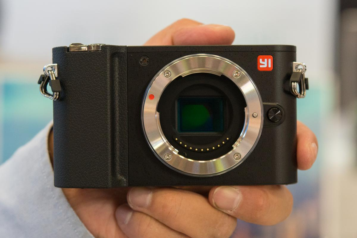 We go hands-on with the YI Technology M1 mirrorless camera