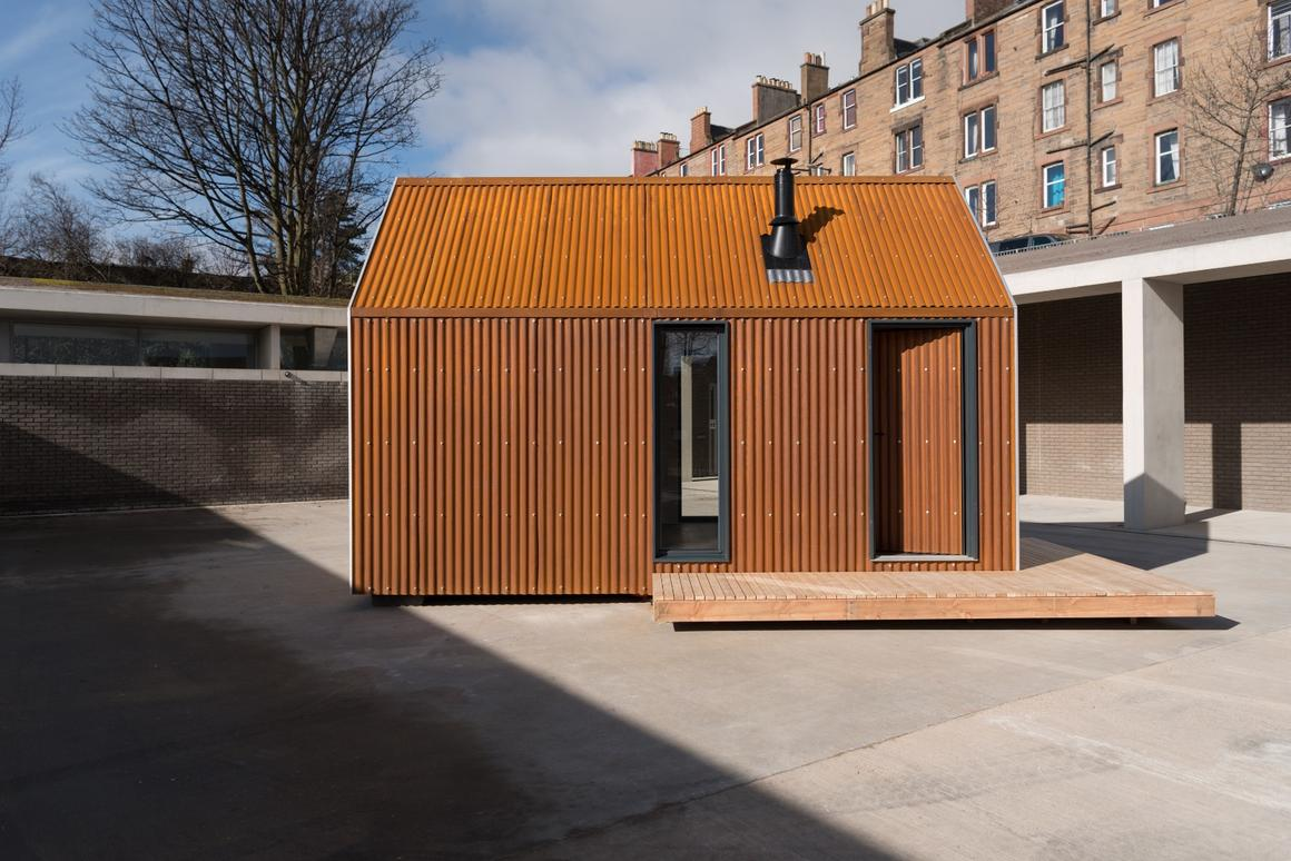 The Artist Bothy can be installed within a day