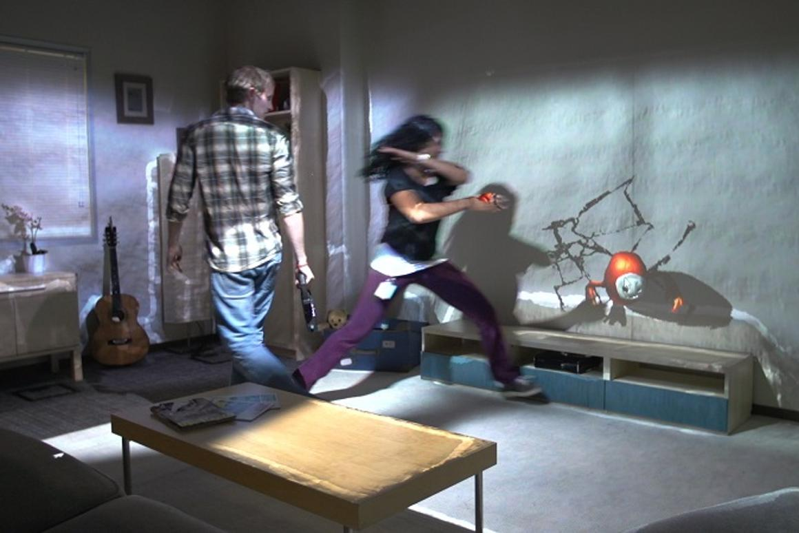 RoomAlive is the latest prototype from Microsoft Research