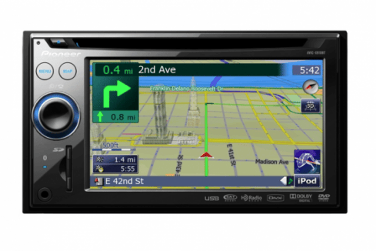 Pioneer AVIC-X in-car navigation