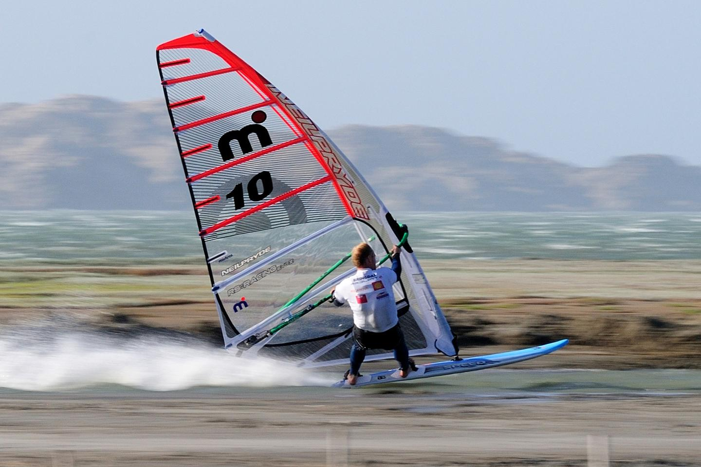 Anders Bringdal on the course of the Luderitz Speed Challenge