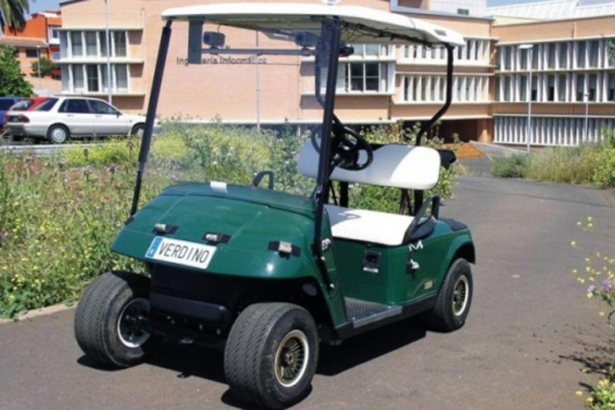 Verdino self-steering vehicle