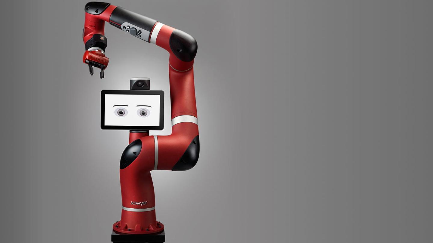 Sawyer is designed to perform intricate tasks that are beyond the capabilities of other industrial robots (Photo: Cassandra Zampini)