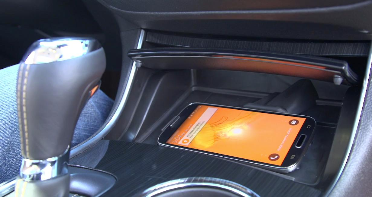 Chevrolet's Active Cooling feature gives your phone its own air conditioning vent