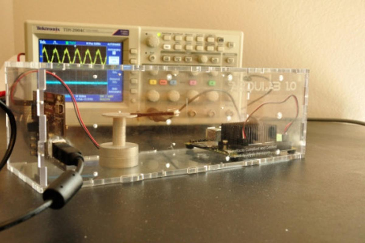 An example of an Ardulab experiment
