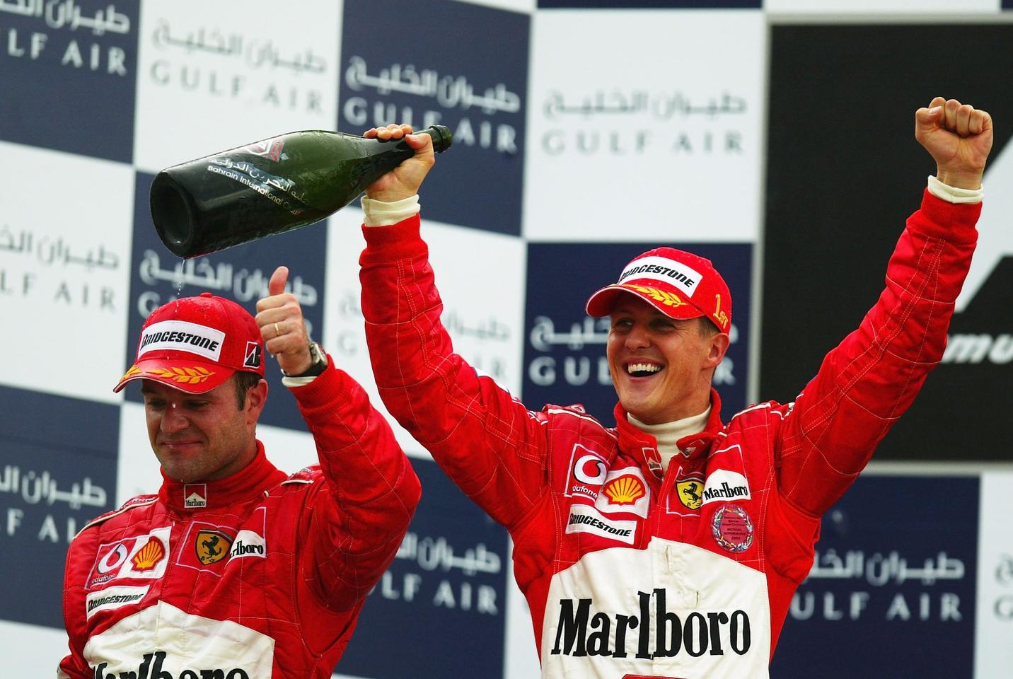 With seven world F1 championships, Michael Schumacher is the most successful F1 racing driver in history.