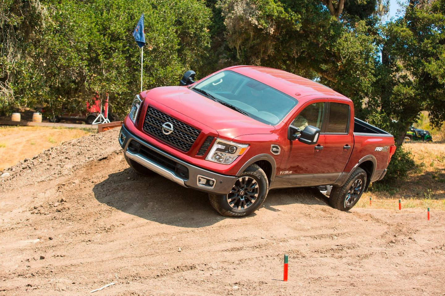The Titan XD, especially in its Pro-4X package, has plenty of chops in walkabout