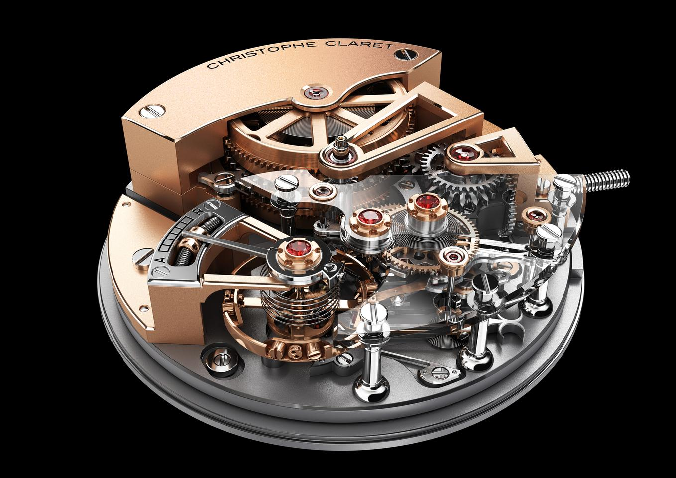 The Christophe Claret Maestoso movement