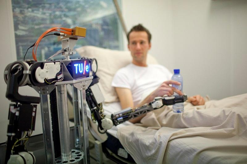 A demonstration of RoboEarth has been given at Eindhoven University for Technology