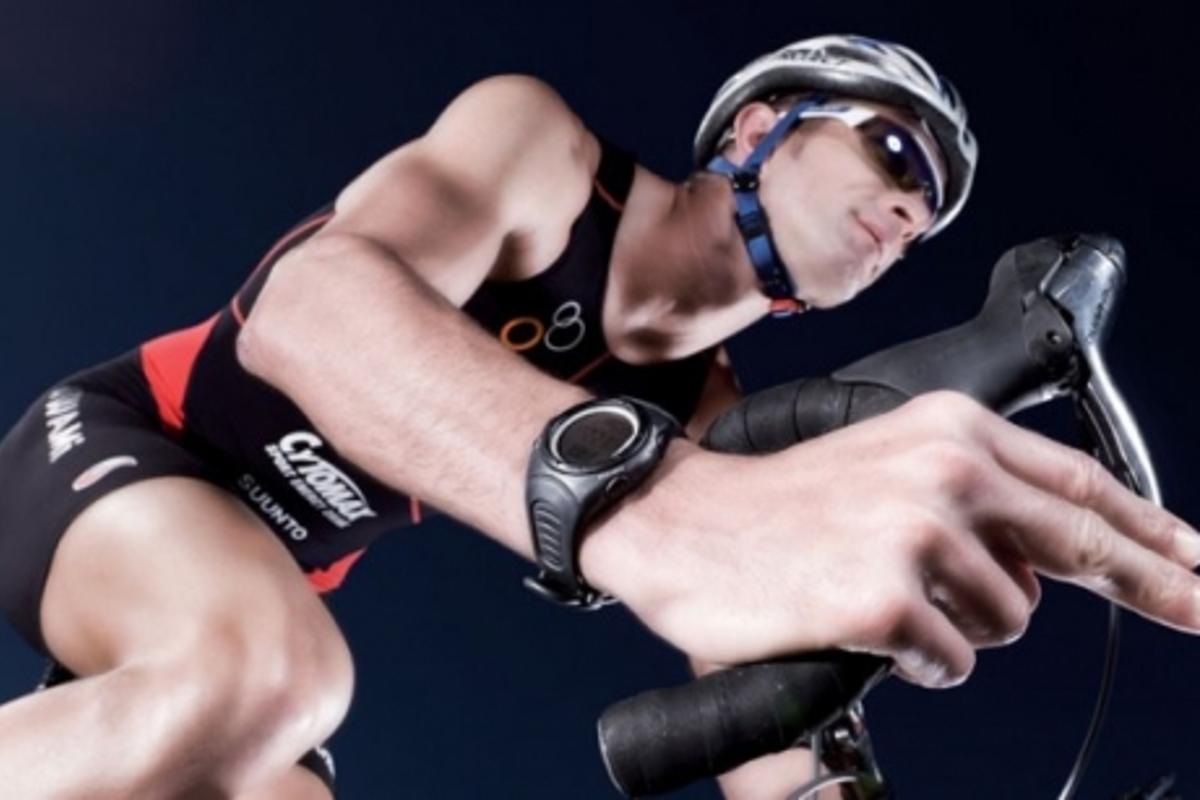 Suunto heart rate monitors: Triathlete Matt Reed
