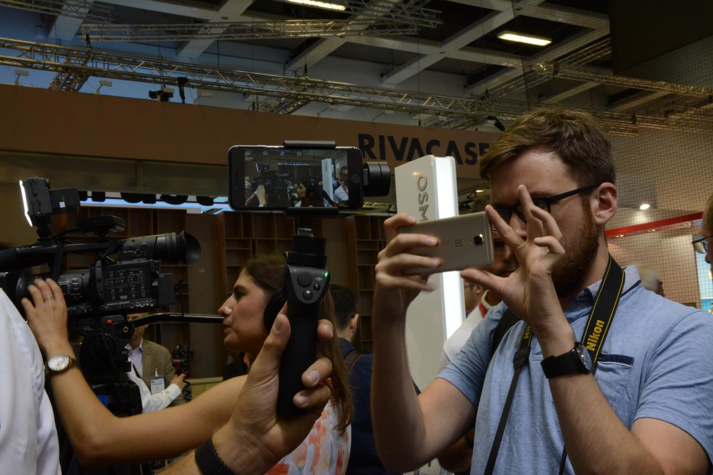 DJI's Osmo Mobile is unveiled at IFA 2016