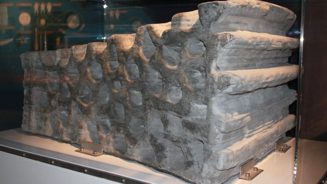 A 1.5-tonne building block of artificial lunar regolith, demonstrating 3D printing using lunar soil