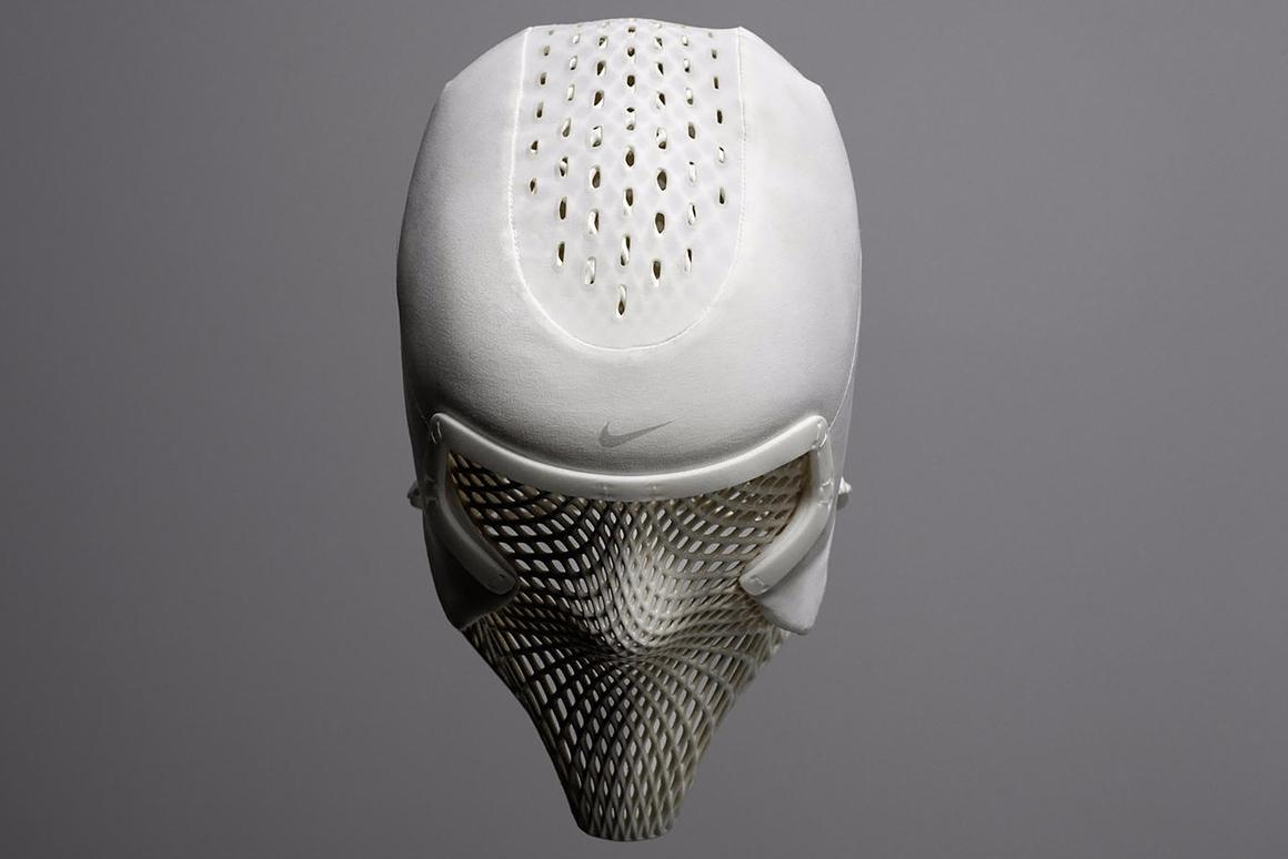 Nike's new cooling hood was developed in partnership with US Olympic decathlon champion Ashton Eaton