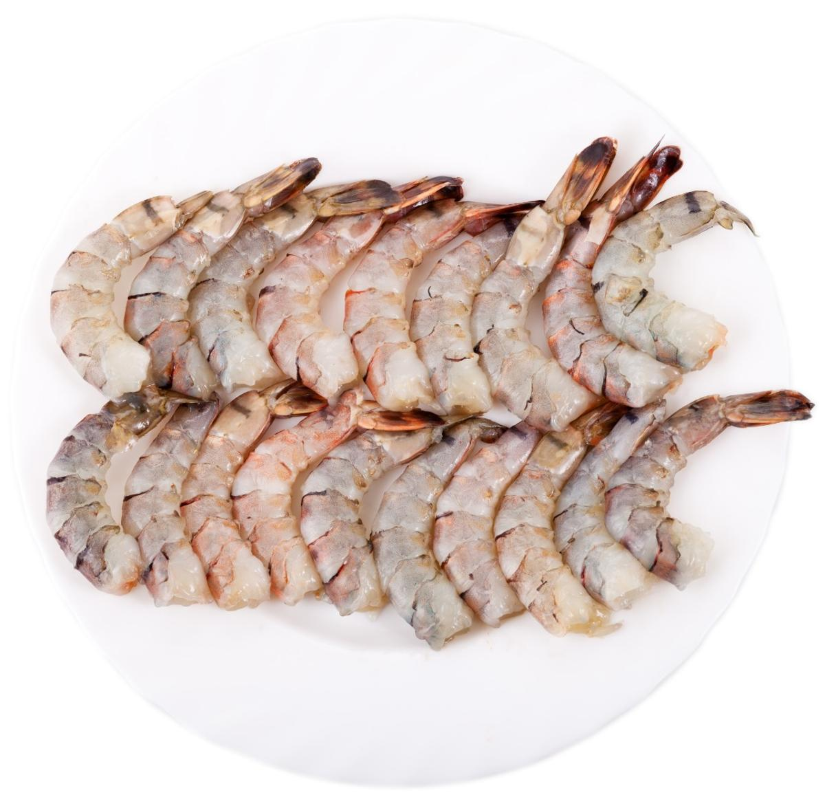 The film has been used to eradicate E. coli and Salmonella bacteria in tiger prawns