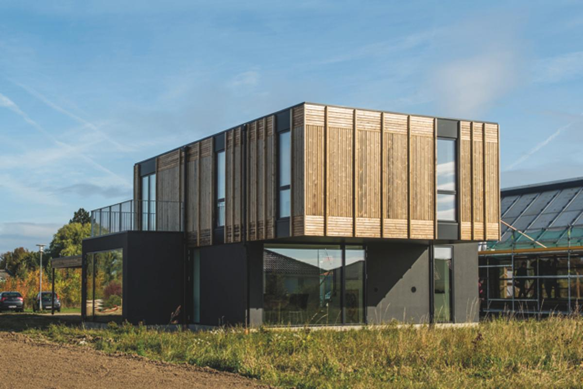 Adaptable house by Henning Larsen Architects (Photo: Jesper Ray/Realdania Byg)