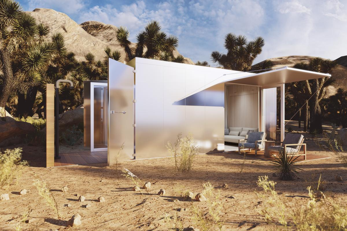 Malibu architect Doug Burdge and builder Nate Garnero have come together to create a luxurious tiny dwelling