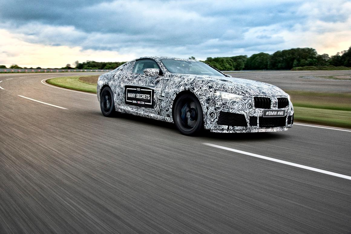 The BMW M8 will look similar to the Concorso concept