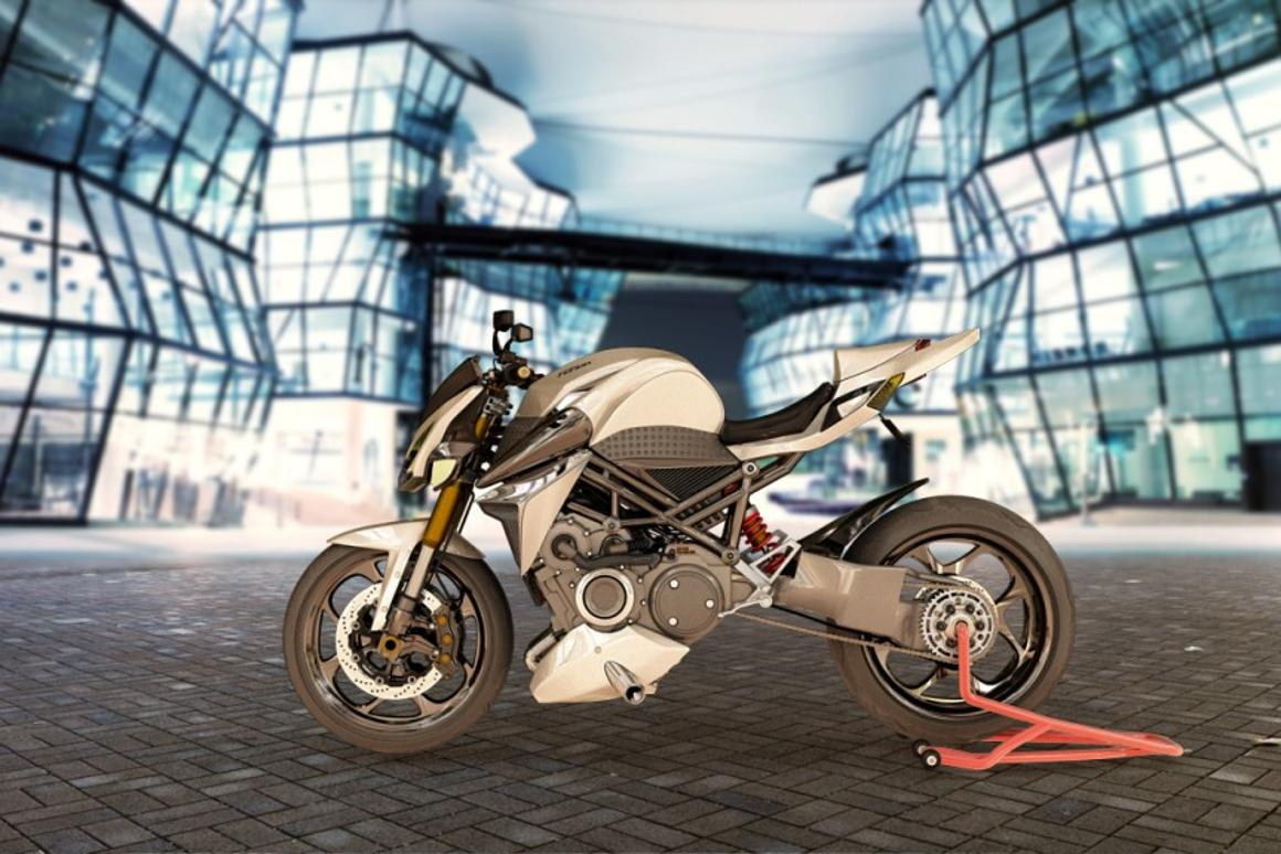Ludicrous torque: France's hybrid rotary motorcycle concept