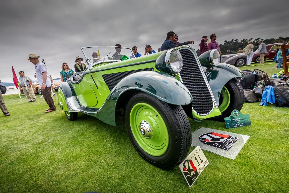 1935 BMW 315/1 Roadster in lime German green