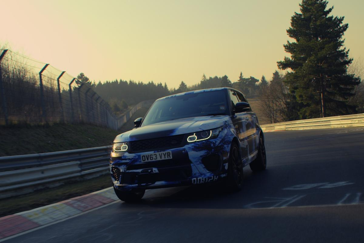 A Range Rover Sport SVR is claimed to have lapped the Nurburgring in just 8 minutes and 14 seconds