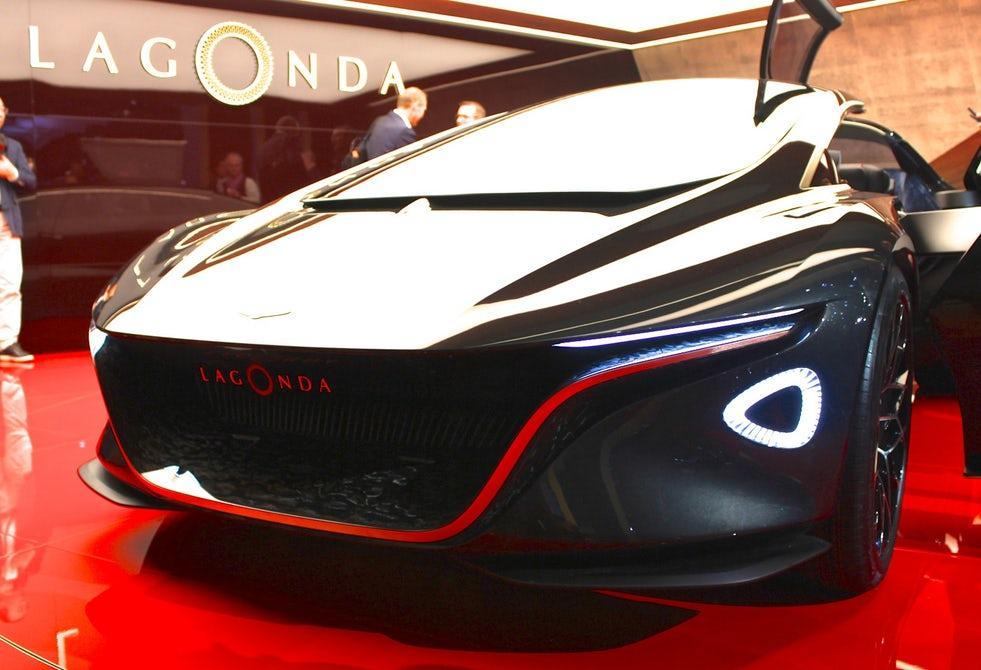 Aston Martin surprised the Geneva Motor Show with the Lagonda Vision Concept