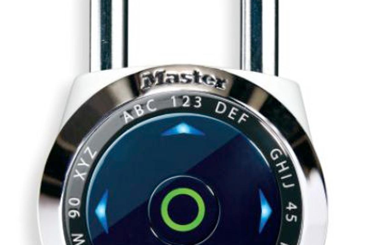 Master Lock's dialSpeed electronic combination padlock