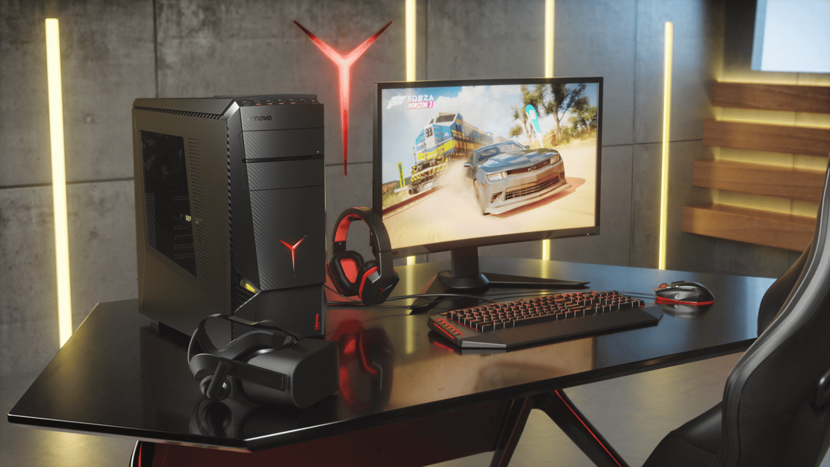 At Gamescom this week, Lenovo has announced three new gaming desktop PCs and a gaming monitor for its Legion line