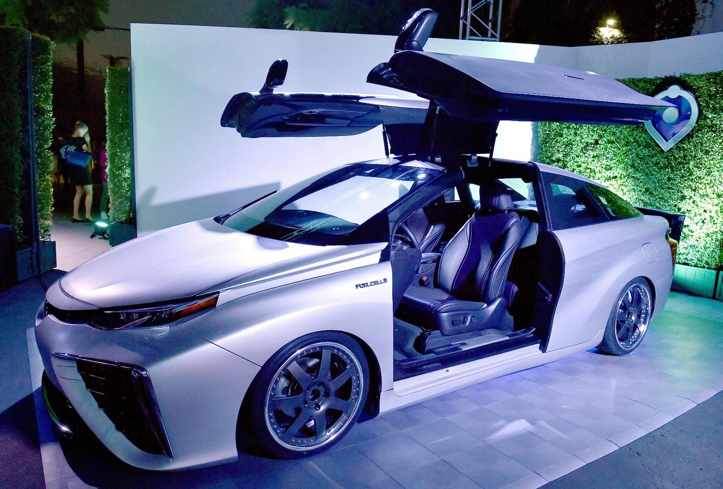 Toyota celebrates with a special Mirai