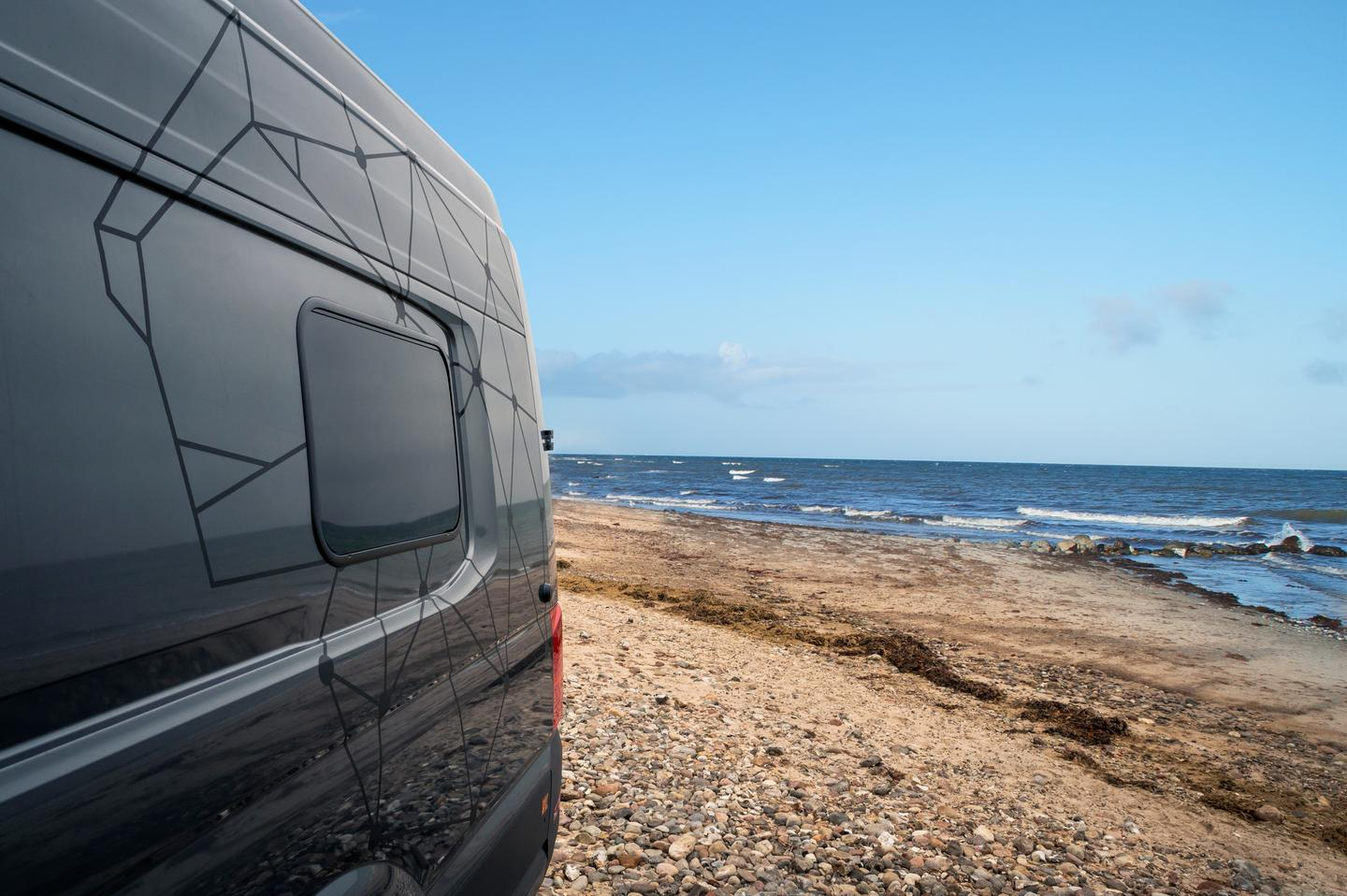 Hamburg-based Loef has created a stylish, luxurious camper van for short road trips and longterm travel