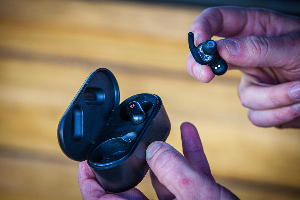 The earbuds themselves have around seven hours of battery life, but the charging case extends that to 30 hours