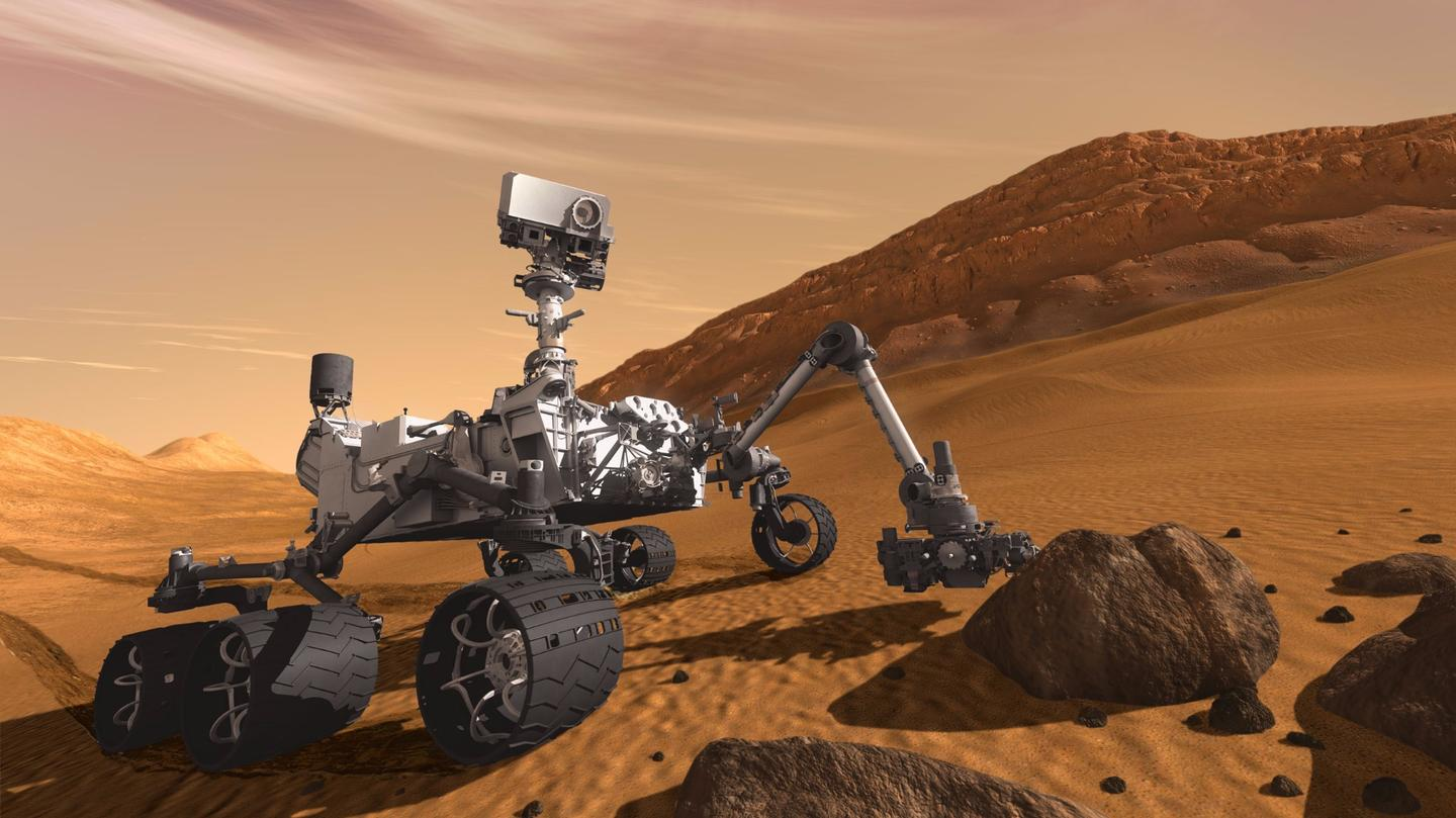 Our current way of doing things – the Curiosity rover on Mars
