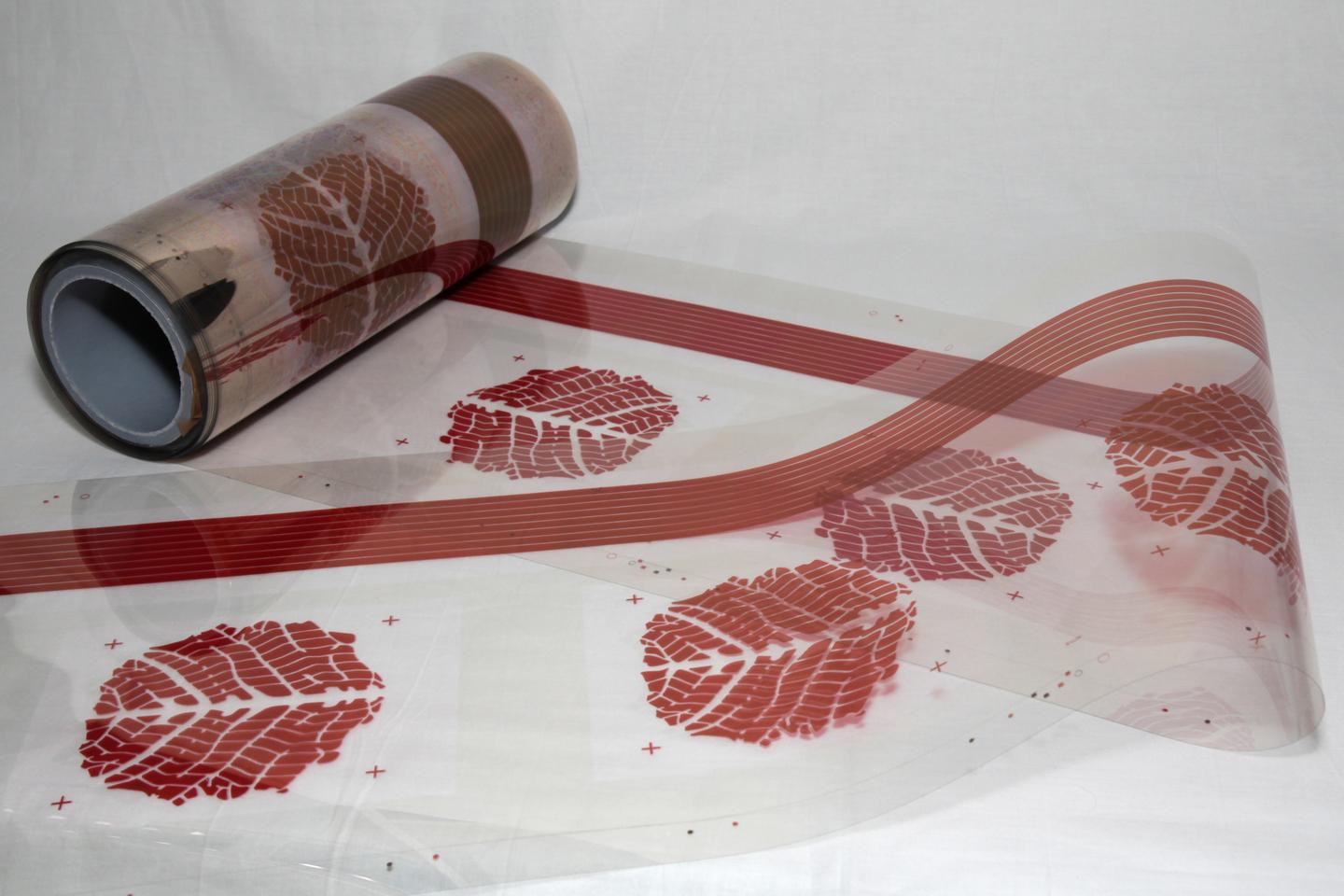 Decorative graphic elements can be printed as part of the manufacturing process (Photo: Antti Veijola)
