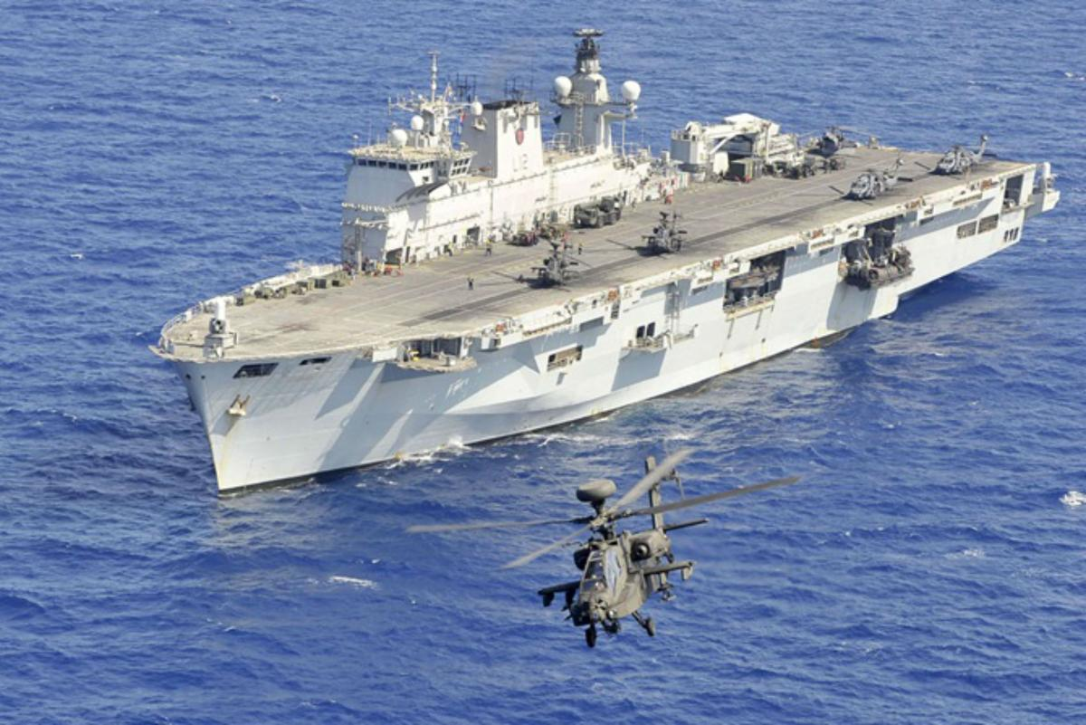 Shared infrastructure allows all of a ship's combat systems to be accessed from one console (Image: Royal Navy)